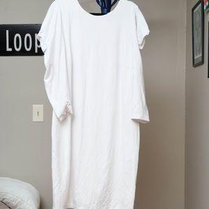 Eloquii Puff Sleeve Dress Sz 22